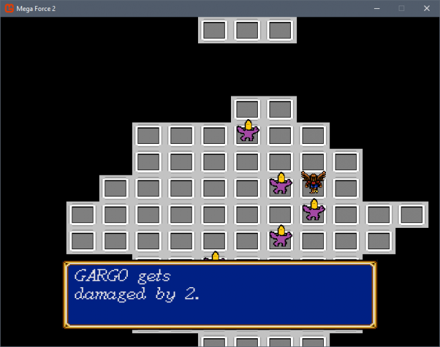 Mega Force 2 - GARGO is not popular