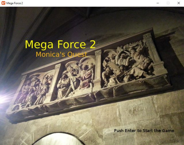 Mega Force 2 - title screen